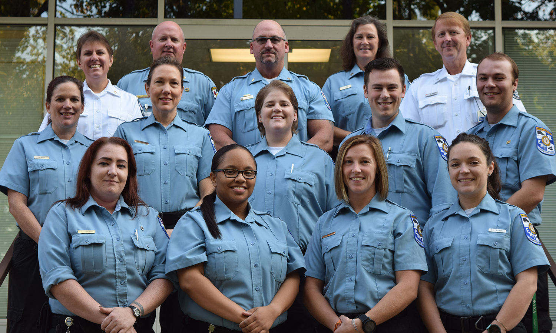 Guilford County EMS graduates, November 2016