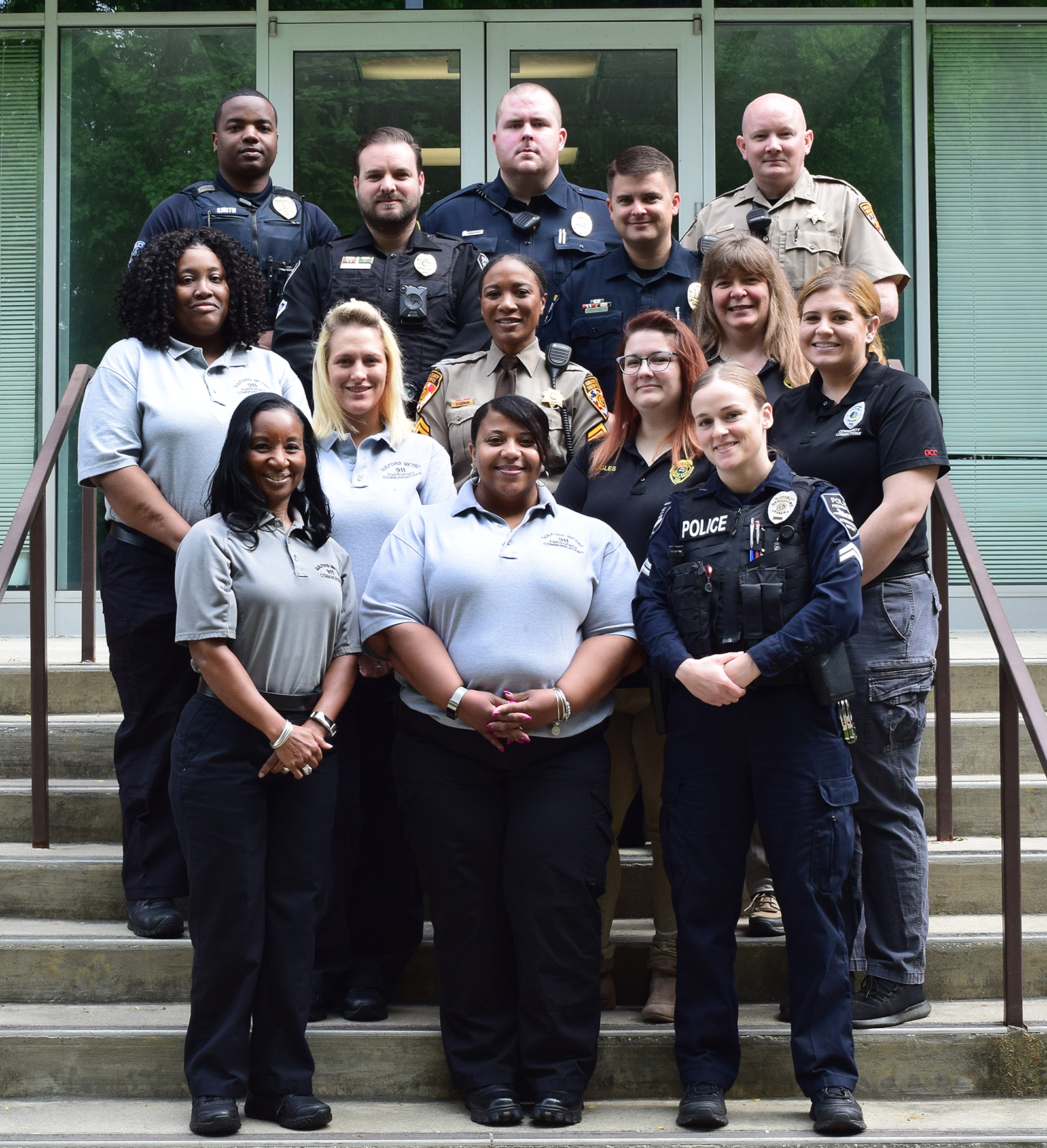 Guilford County CIT graduates — April 2018