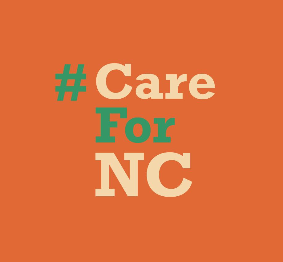 #CareForNC