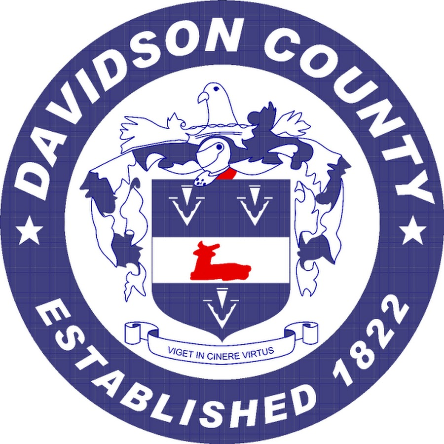 Davidson County, NC seal, Davidson County government, County Commissioners
